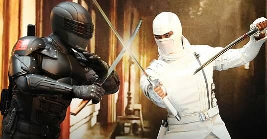 G.I.JOE RETALIATION Storm Shadow VS Snake Eyes