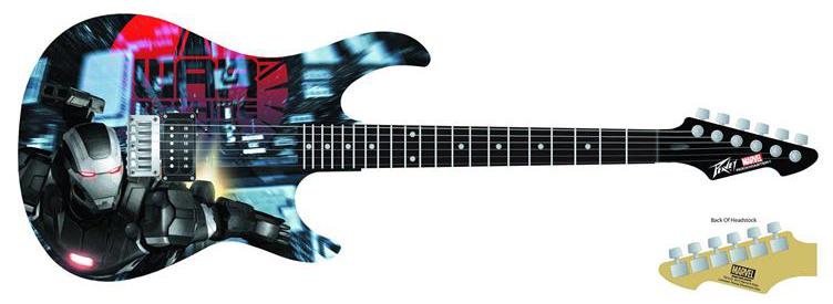 Iron Man Guitar 1