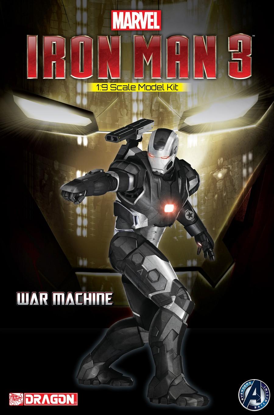 Iron Man - War Machine model kit