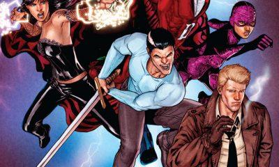 Justice League Dark page