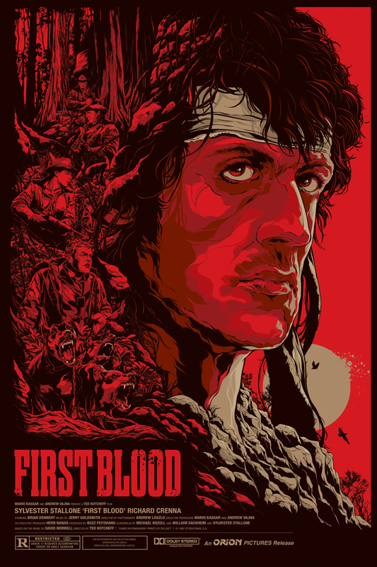 KenTaylor-FirstBlood-Poster-Regular-Mondo