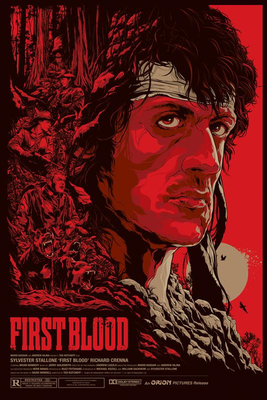 KenTaylor-FirstBlood-Poster-Regular-Mondo