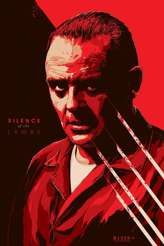 KenTaylor-SilenceoftheLambs-Poster-Regular-Mondo