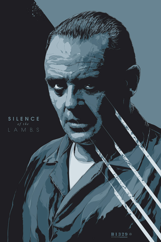 KenTaylor-SilenceoftheLambs-Poster-Variant-Mondo