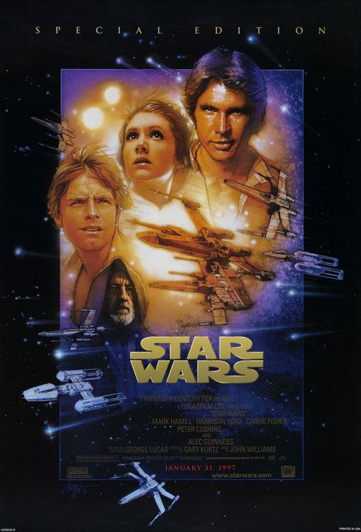 Star Wars-Episode IV - Poster
