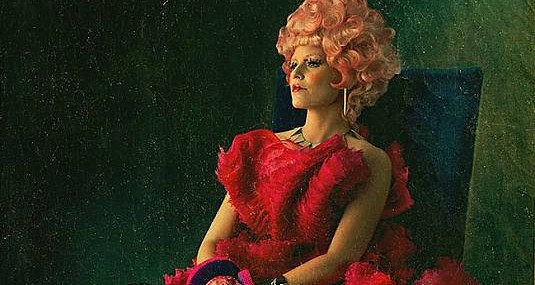 THE HUNGER GAMES CATCHING FIRE Elizabeth Banks