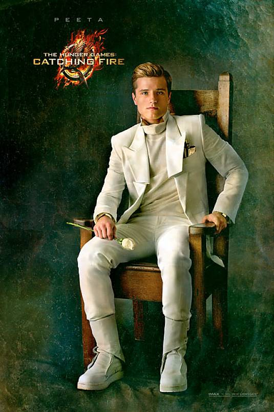 THE HUNGER GAMES CATCHING FIRE Josh Hutcherson As Peeta