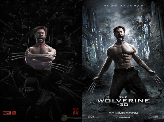 The Wolverine - Two  Posters