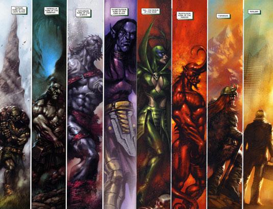 Thor: The Dark World Nine Worlds' Realms