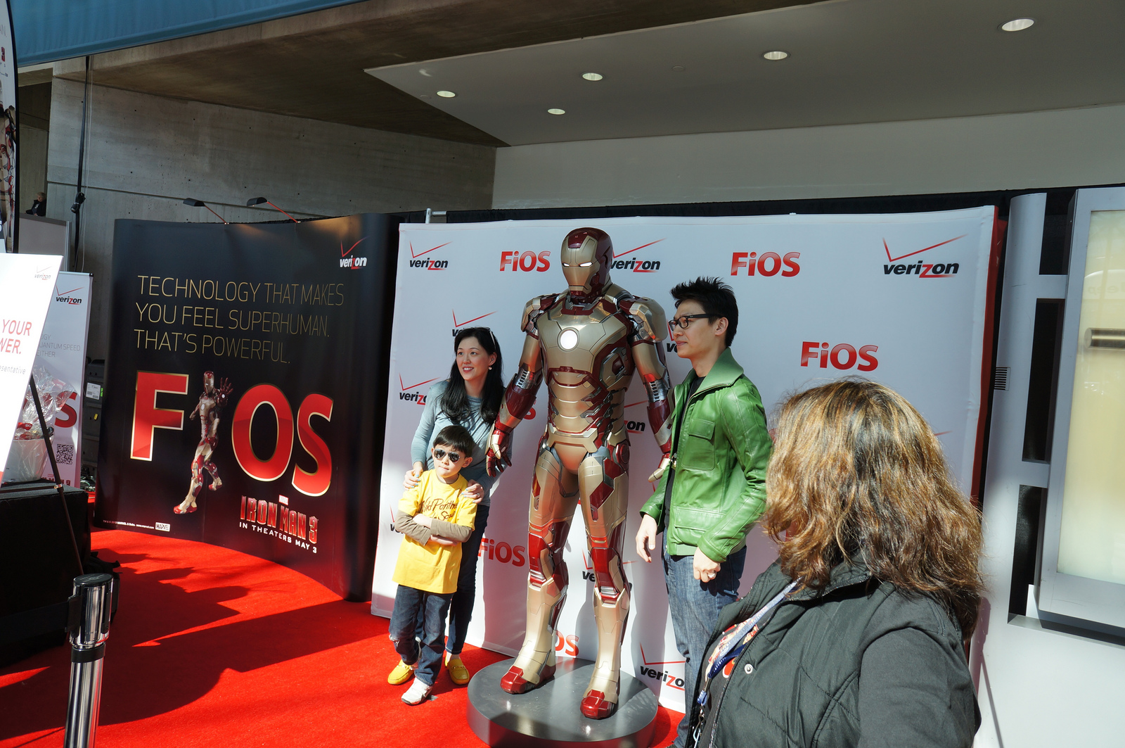 Verizon – Iron Man 3 Promotion