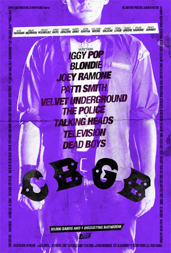 CBGB poster - Cheetah Chrome