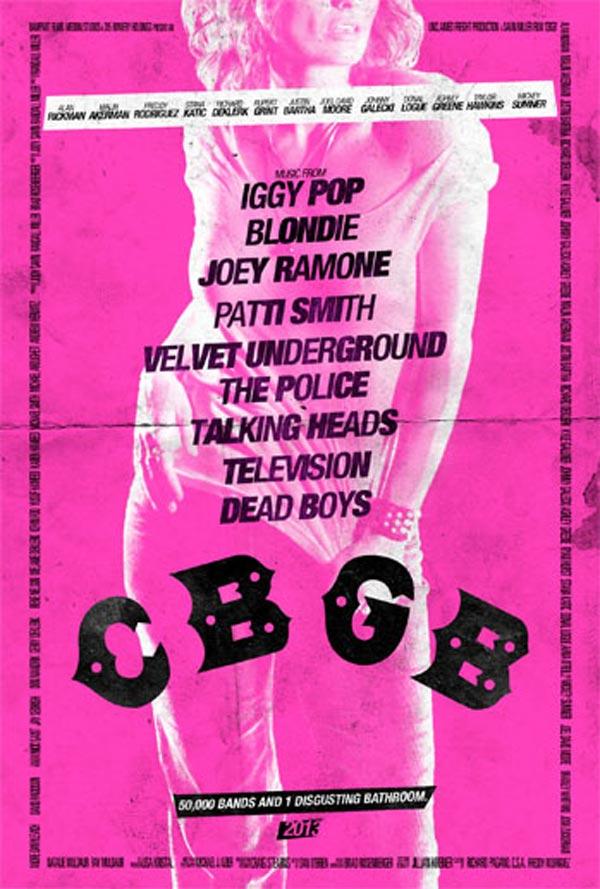 CBGB poster - Genya Ravan
