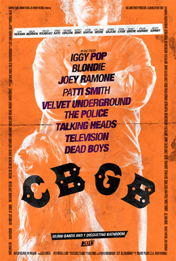 CBGB poster - Hilly Kristal