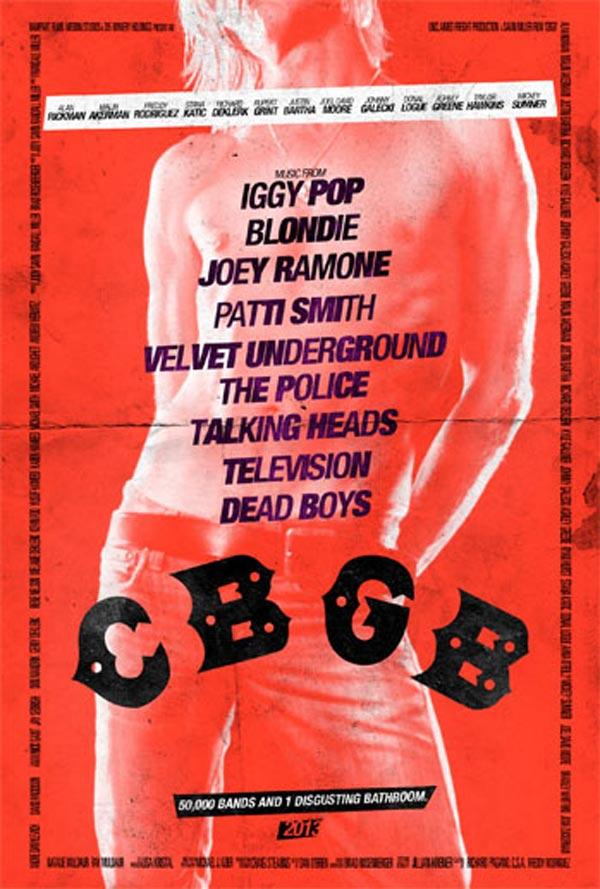 CBGB poster - Iggy Pop