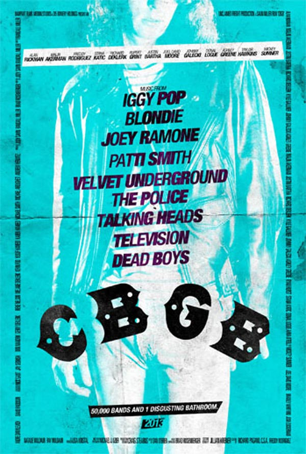 CBGB poster - Joey Ramone
