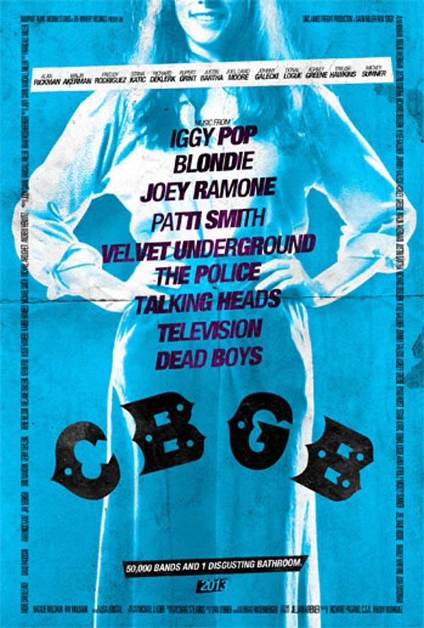 CBGB poster - Lisa Kristal