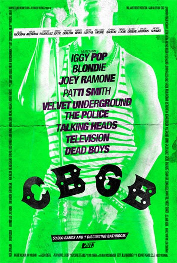 CBGB poster - Stiv Bators