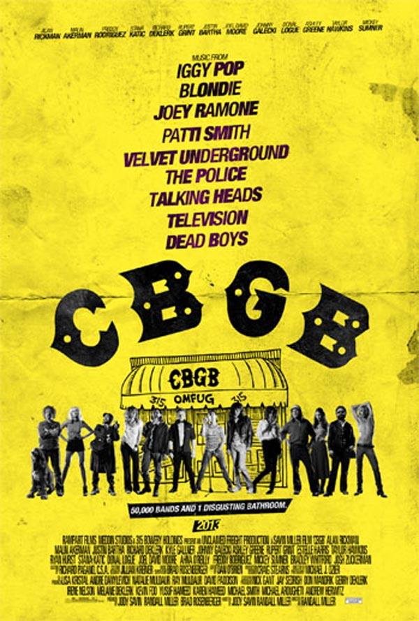 CBGB poster - The Whole Gang