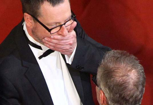Lars von Trier and Thierry Fremaux