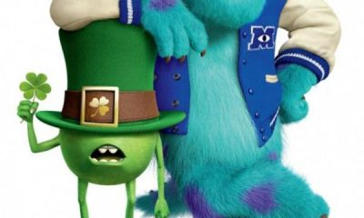 Monsters University Poster St. Patrick's Day