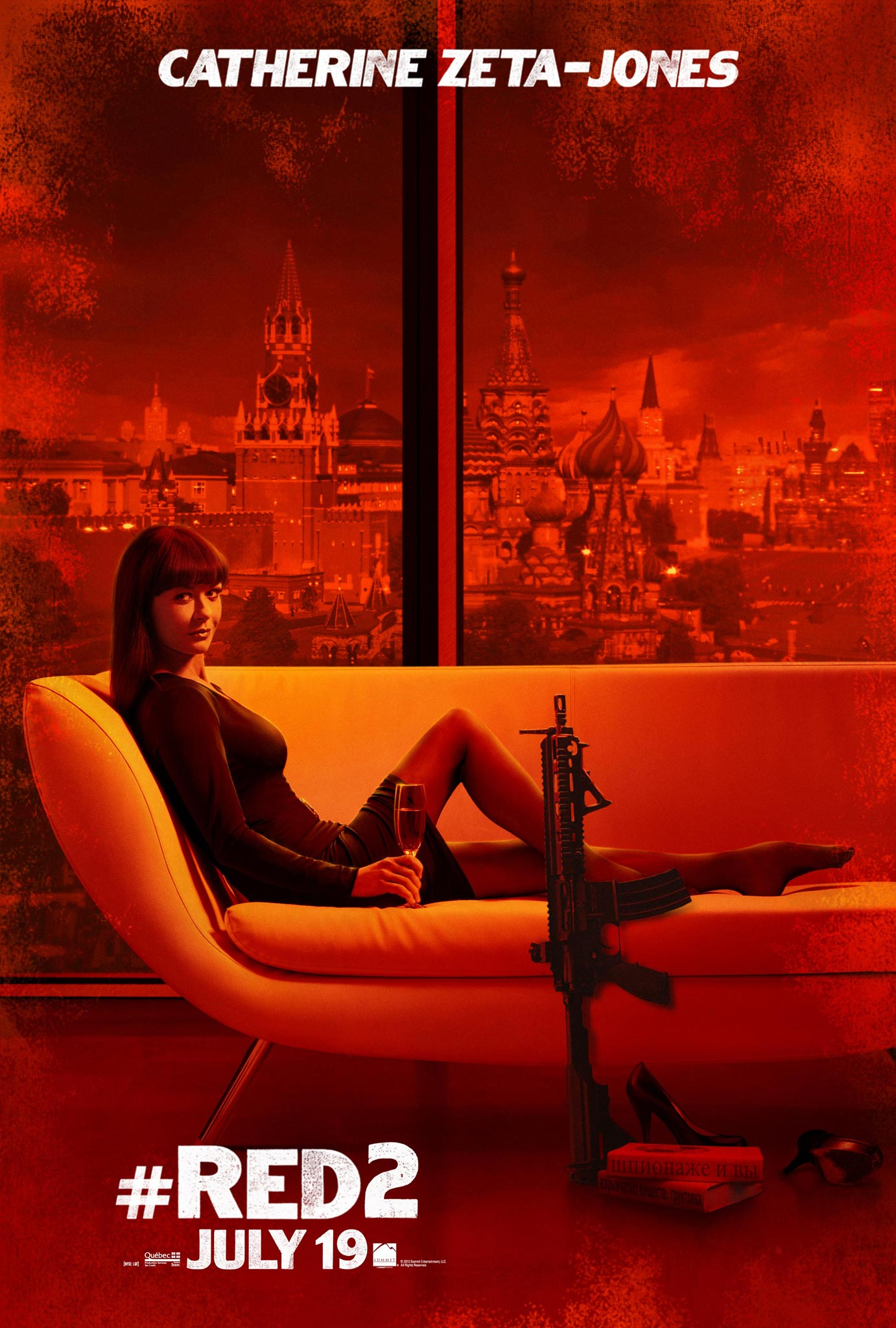 RED 2 Character Posters - FilmoFilia