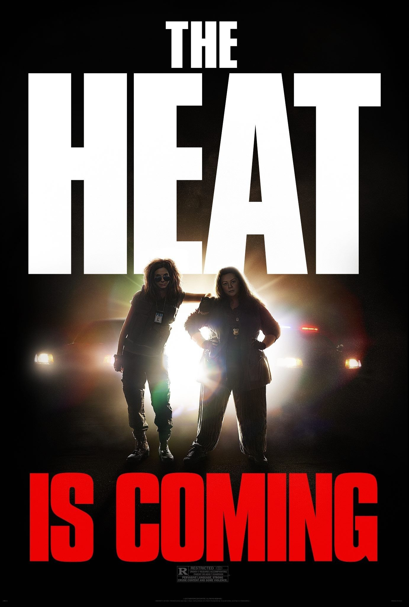 THE HEAT Clip and Poster!