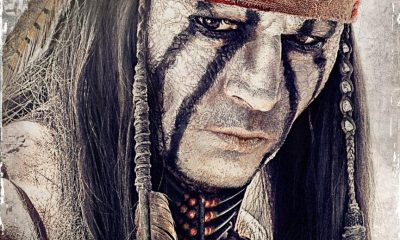 THE LONE RANGER Johnny Depp Poster