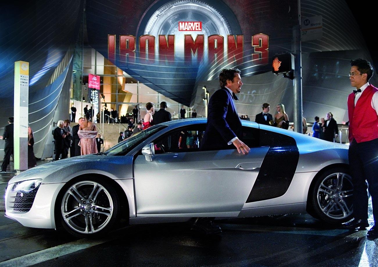 Iron Man 3 Promo Audi R8 Amp New Poster