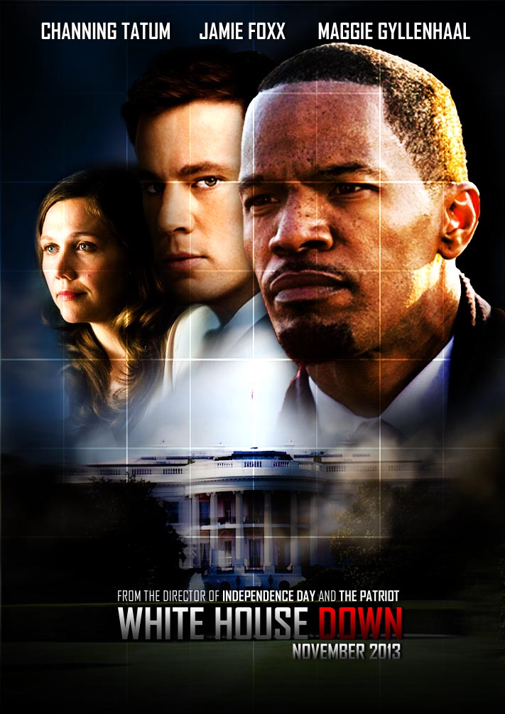 white house down behind the scenes photos. Black Bedroom Furniture Sets. Home Design Ideas