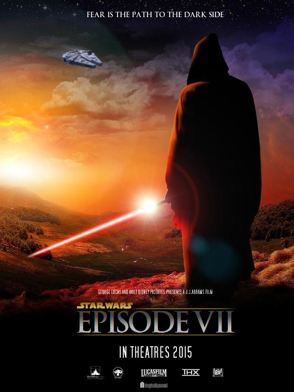 Star Wars: Episode VII poster by DogHollywood
