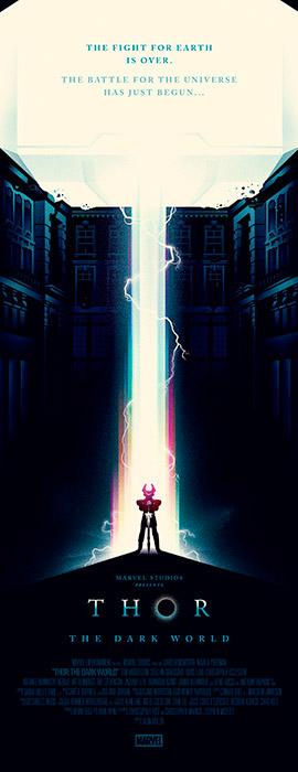 Some THOR: THE DARK WO... Thor The Dark World Mondo Poster