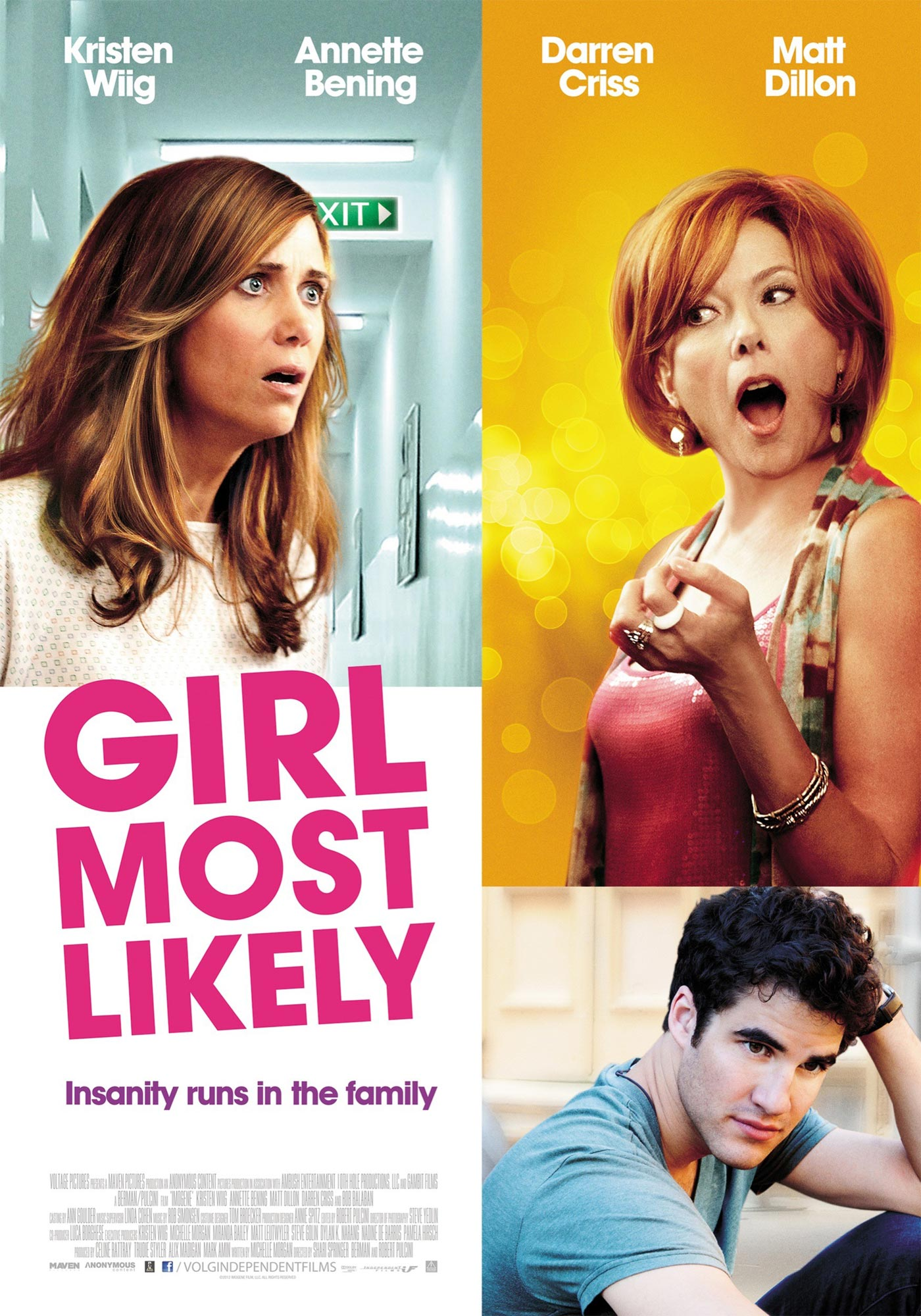 girl most likely poster filmofilia