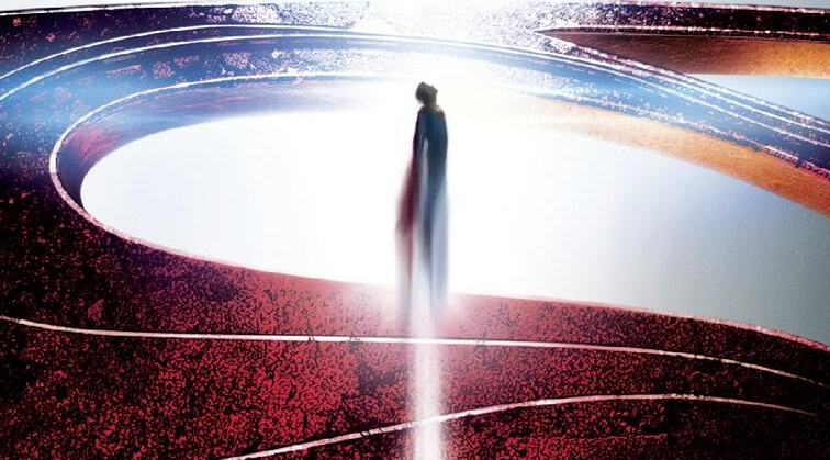 New MAN OF STEEL Poster Debuts Plus Scanned Magazine Photos