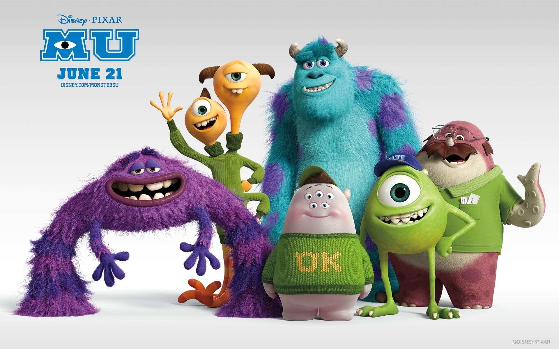 MONSTERS UNIVERSITY Wallpapers - FilmoFilia