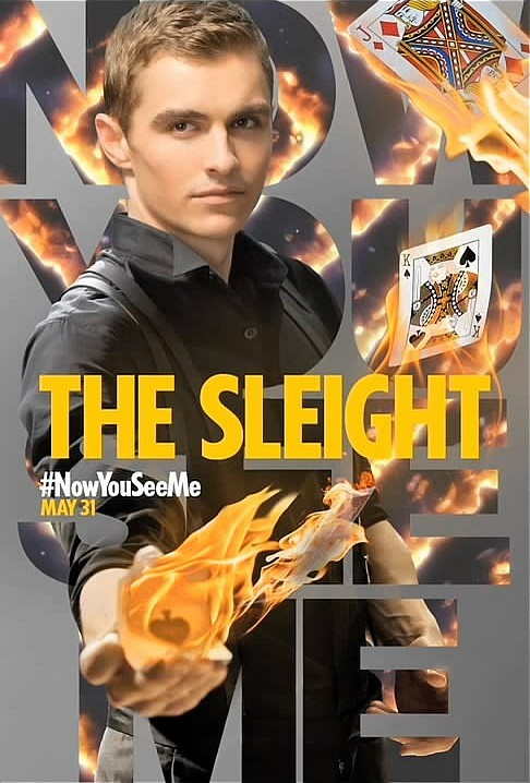 NOW YOU SEE ME Character Posters and Clips Now You See Me Character Posters