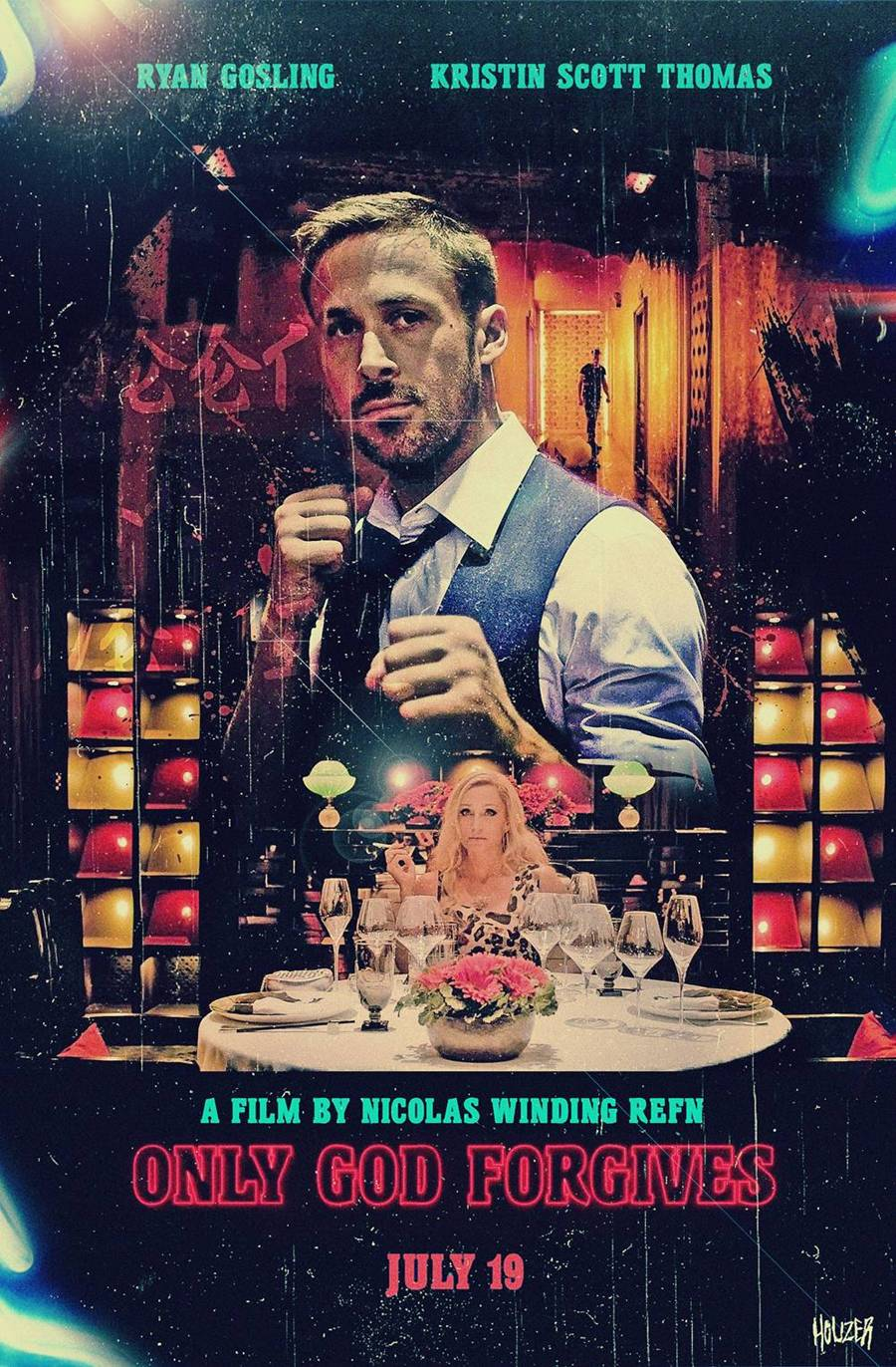 Only God Forgives Neon Poster 'The Neon Demon' Offic...