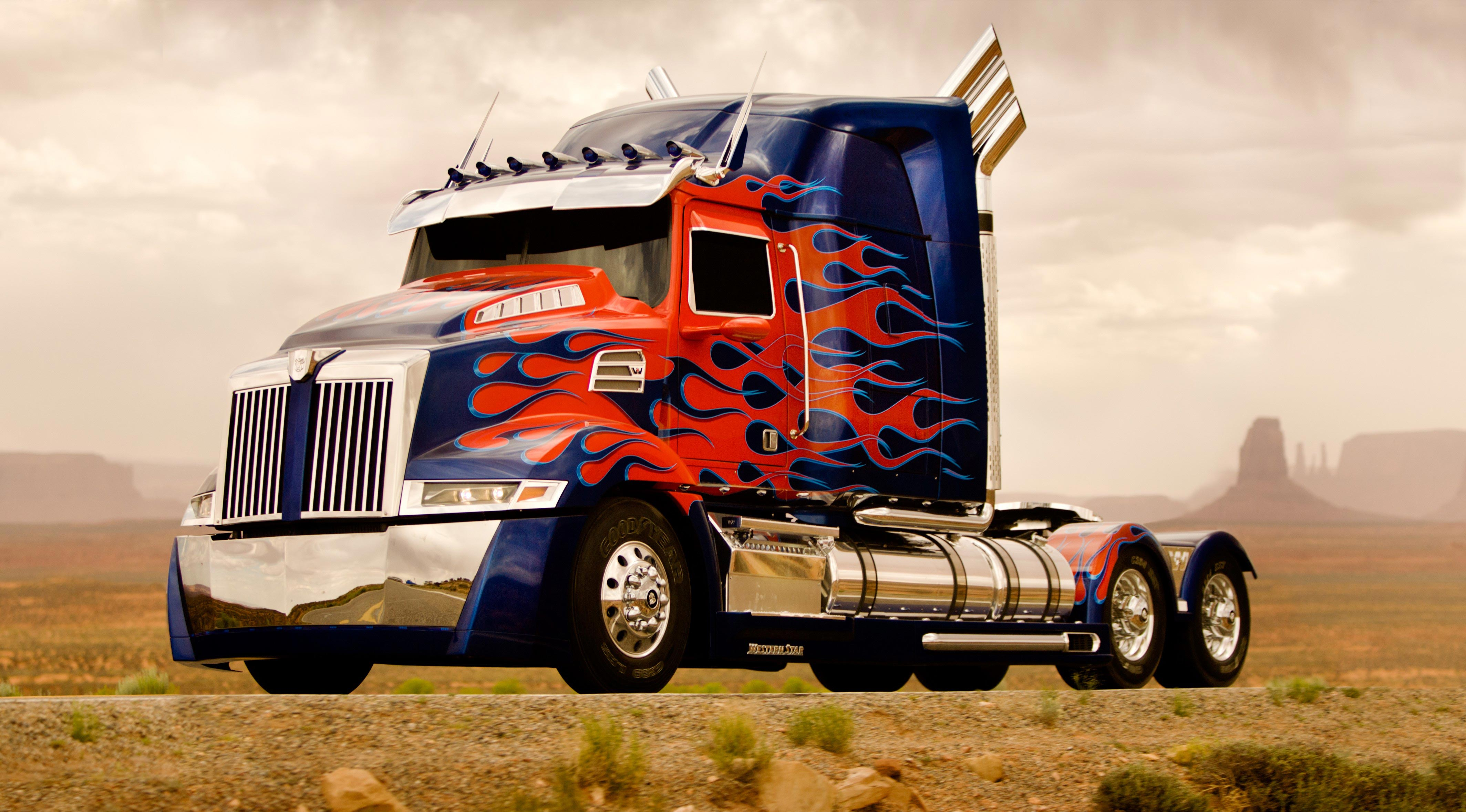 TRANSFORMERS 4 Set Photos: Optimus Prime and Two New Autobots