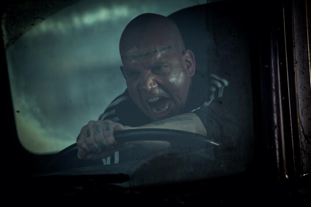 THE AMAZING SPIDER-MAN 2: Paul Giamatti As The Rhino
