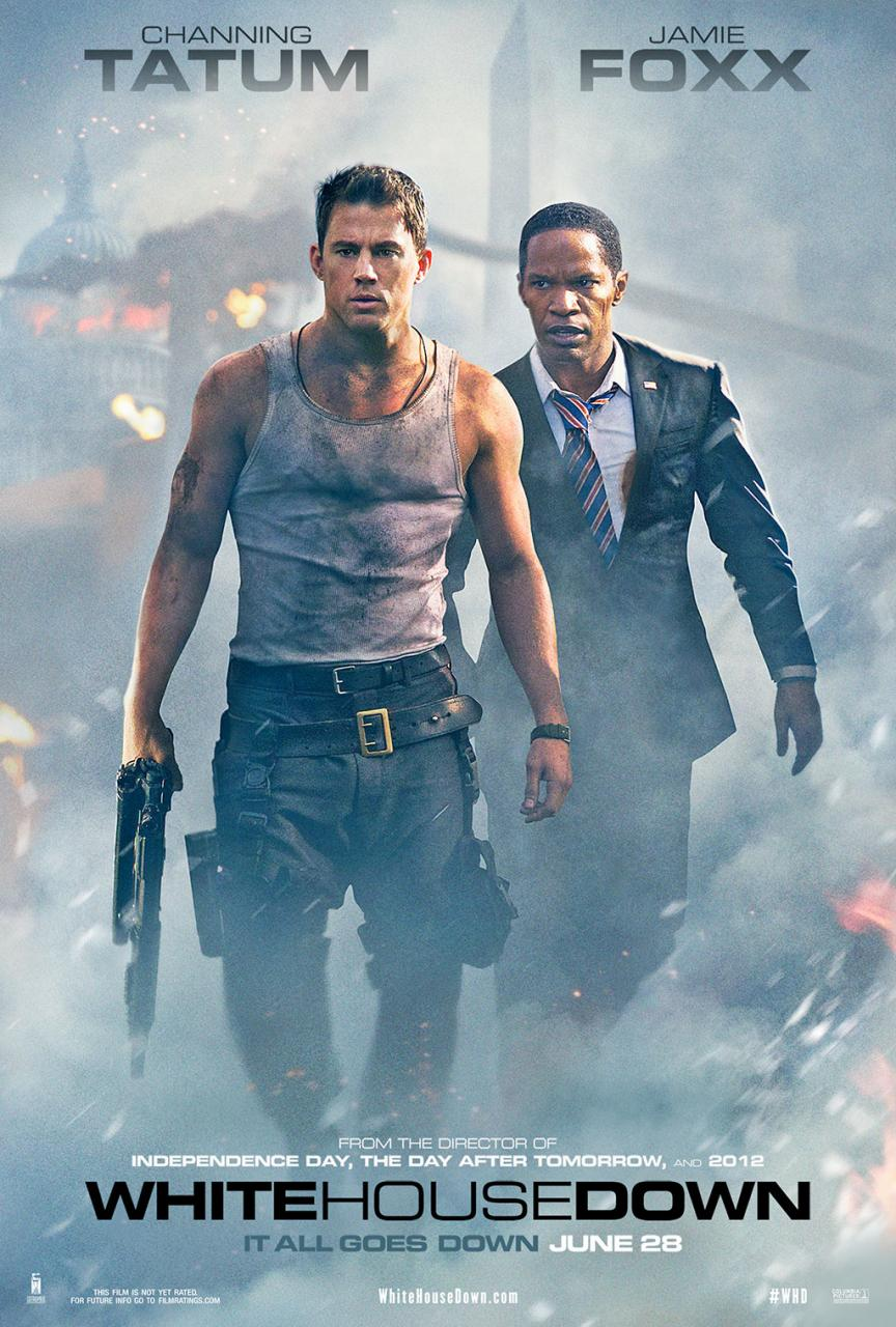 white house down new poster