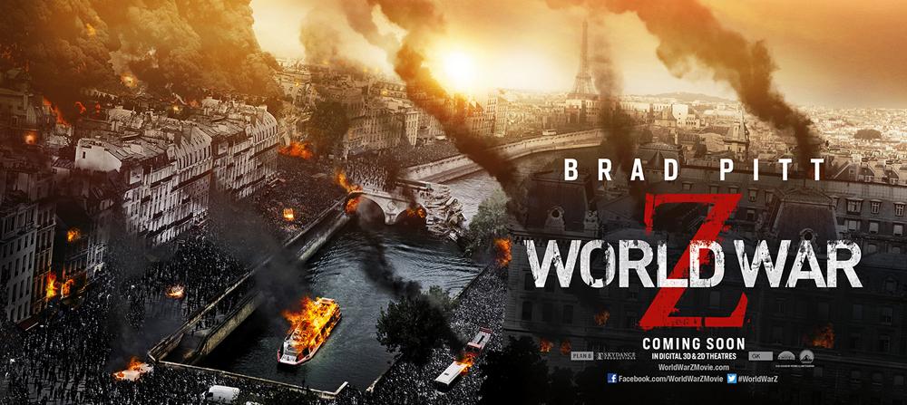 New World War Z City Banners