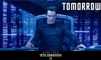Star Trek Into Darkness London promo poster