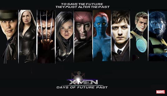 X-Men: Days of Future Past by adwooddesigns