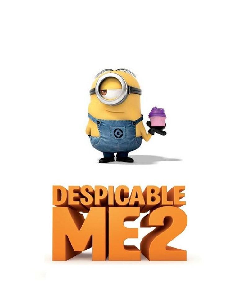 DESPICABLE ME 2 Stuart Minion Poster Despicable Me 2 Minions Poster