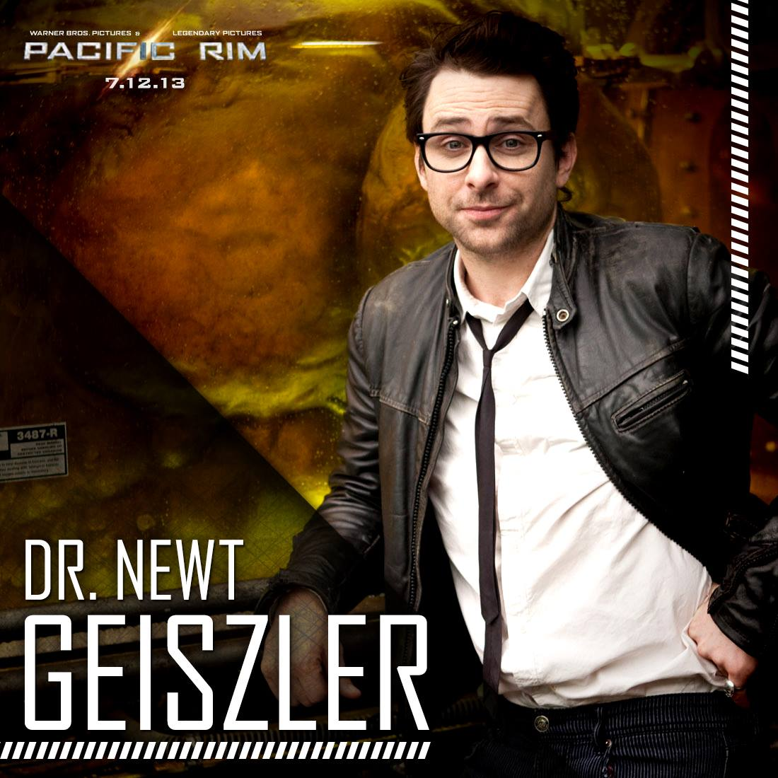Gottlieb Pacific Rim PACIFIC RIM Charlie Day as Dr
