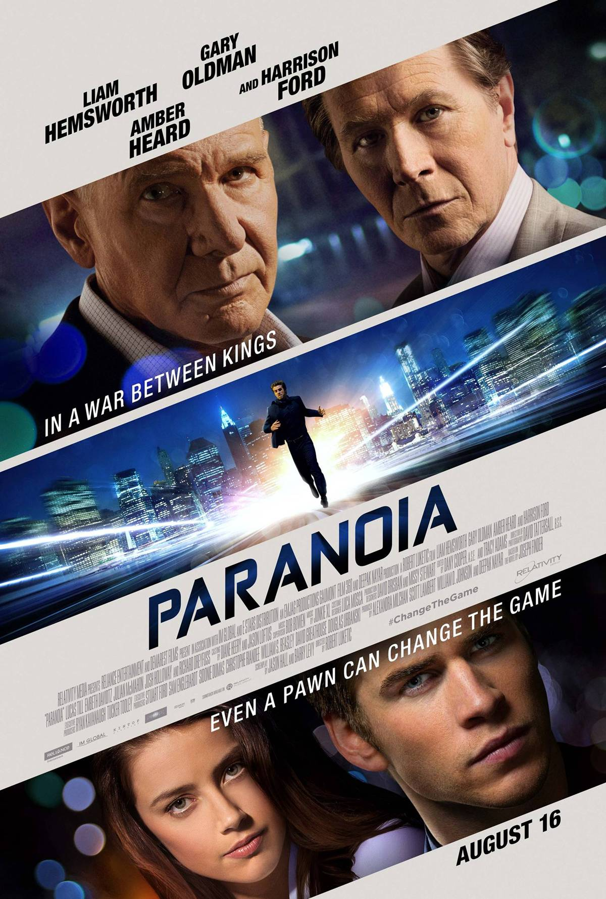 paranoia trailer poster