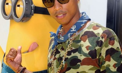 Pharrell Williams Despicable Me 2