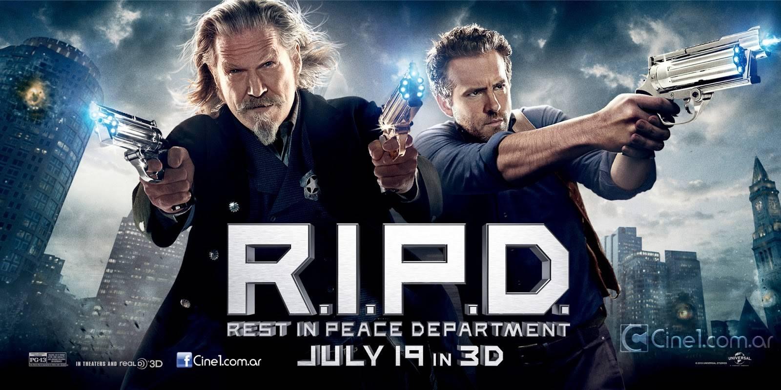 R.I.P.D. Banners Jeff Bridges, Ryan Reynolds