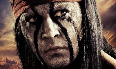 THE LONE RANGER Poster Johnny Depp