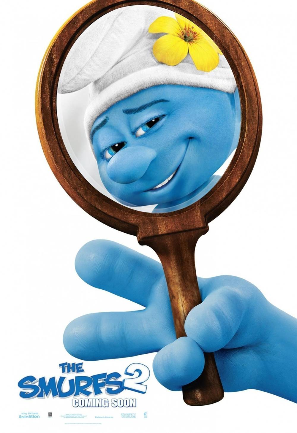 more the smurfs 2 posters vanity smurf amp naughty hackus