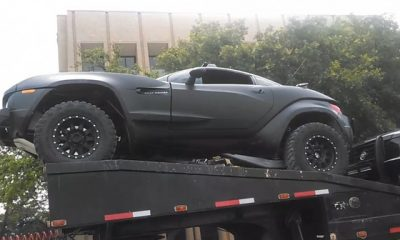 Transformers 4 - Rally Fighter Spotted in Austin Texas